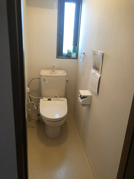 リフォーム前の我が家のトイレ