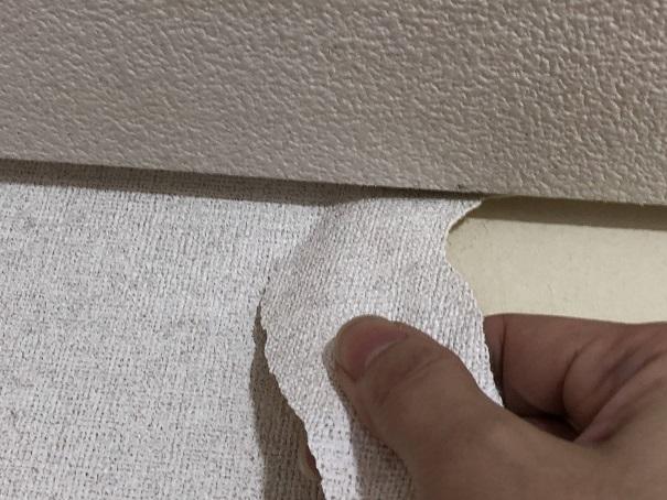 壁紙を剥がすときに注意したところ