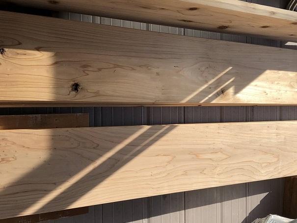 杉カフェ板(杉の無垢材)