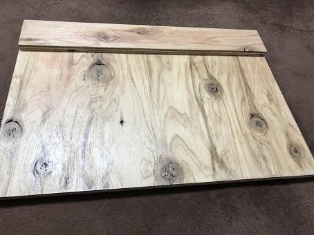 針葉樹合板で自作した新しい食洗機用の台